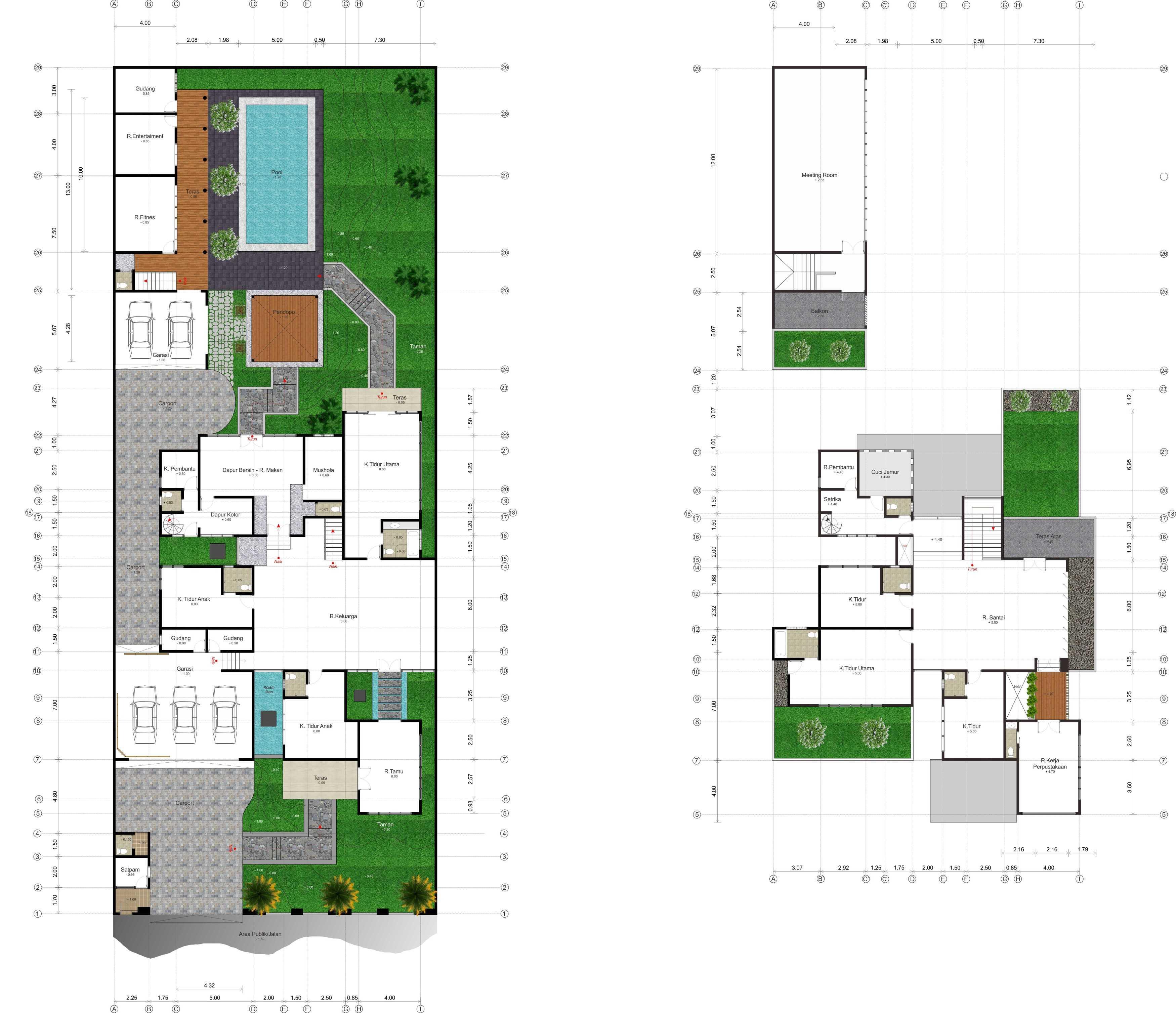 Hendra Budi Architect Privat House Klaten Klaten, Jawa Tengah Klaten, Jawa Tengah Denah-Fix Modern  16458