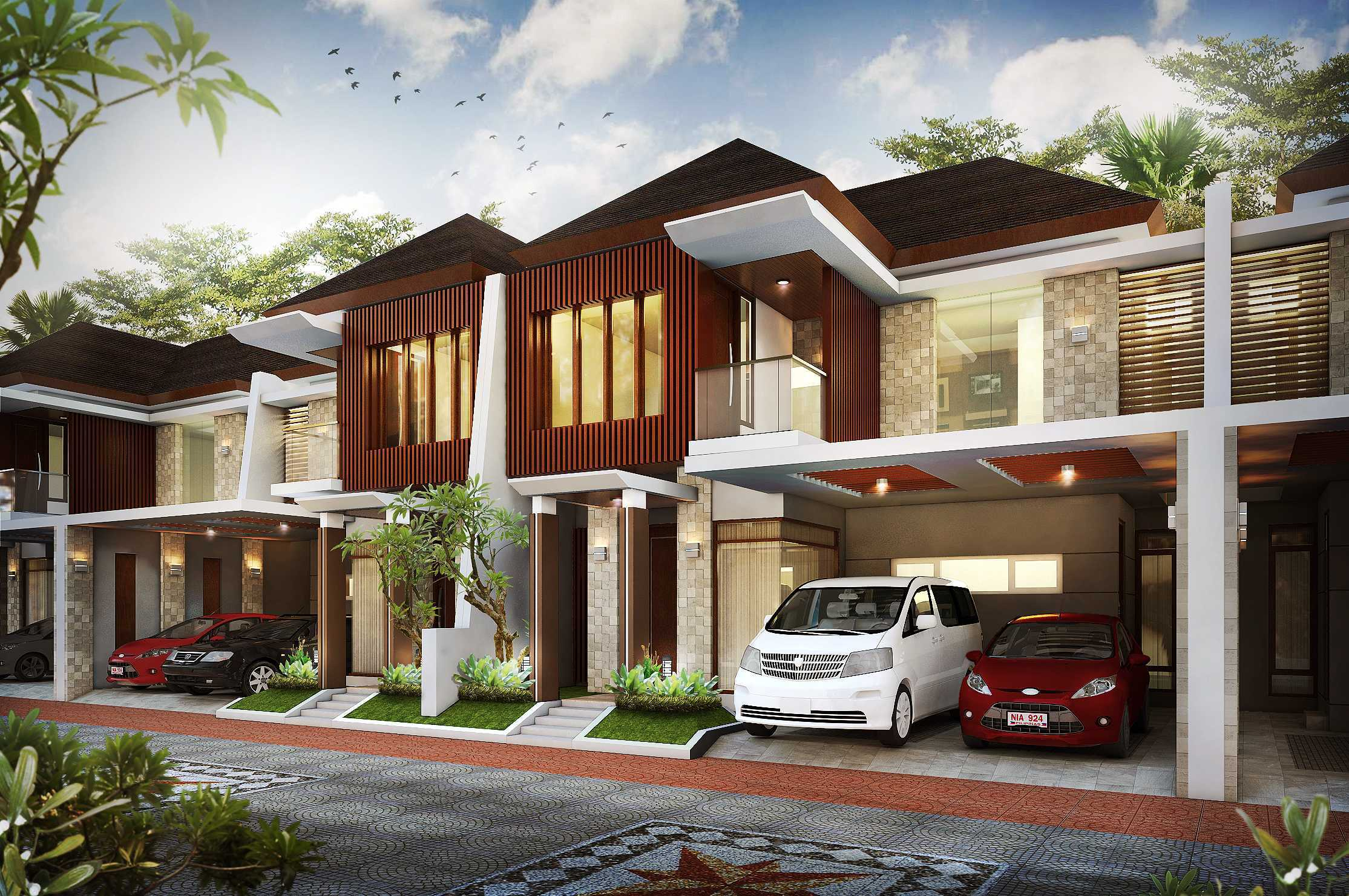 Hendra Budi Architect The Grand Vista Residence Yogyakarta Yogyakarta Front View   16936