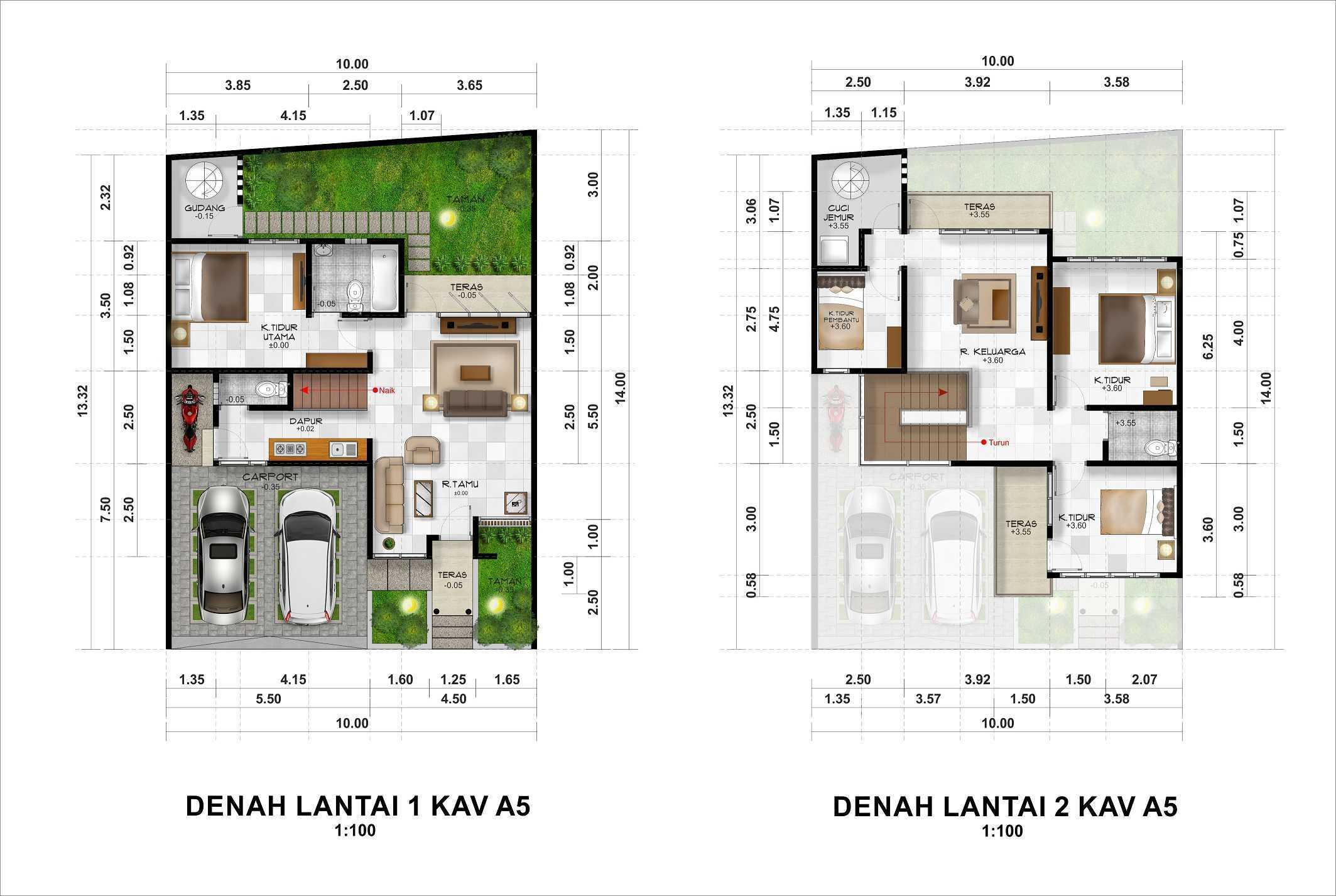 Hendra Budi Architect The Grand Vista Residence Yogyakarta Yogyakarta Kavling-A5   16939
