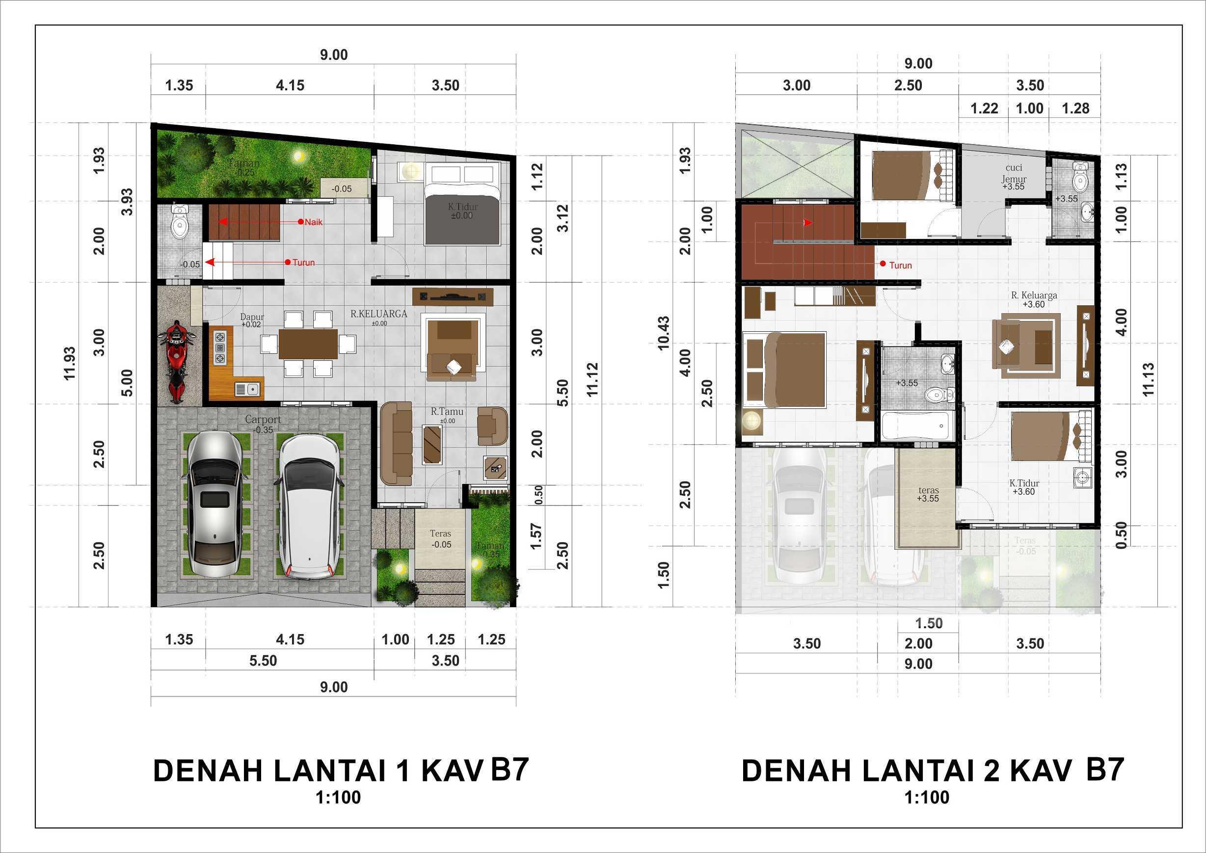 Hendra Budi Architect The Grand Vista Residence Yogyakarta Yogyakarta Kavling-B7   16940