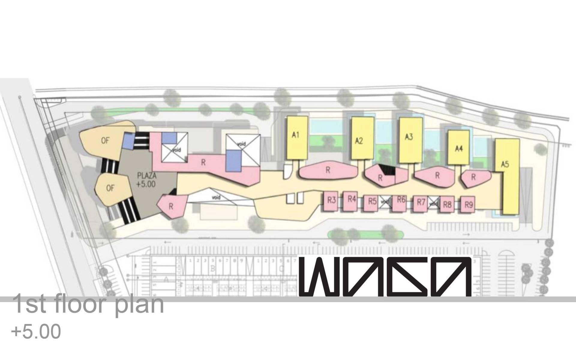 Waga Daan Mogot High Park Masterplan Jakarta, Indonesia Jakarta, Indonesia 1St-Floor-Plan Kontemporer  7321