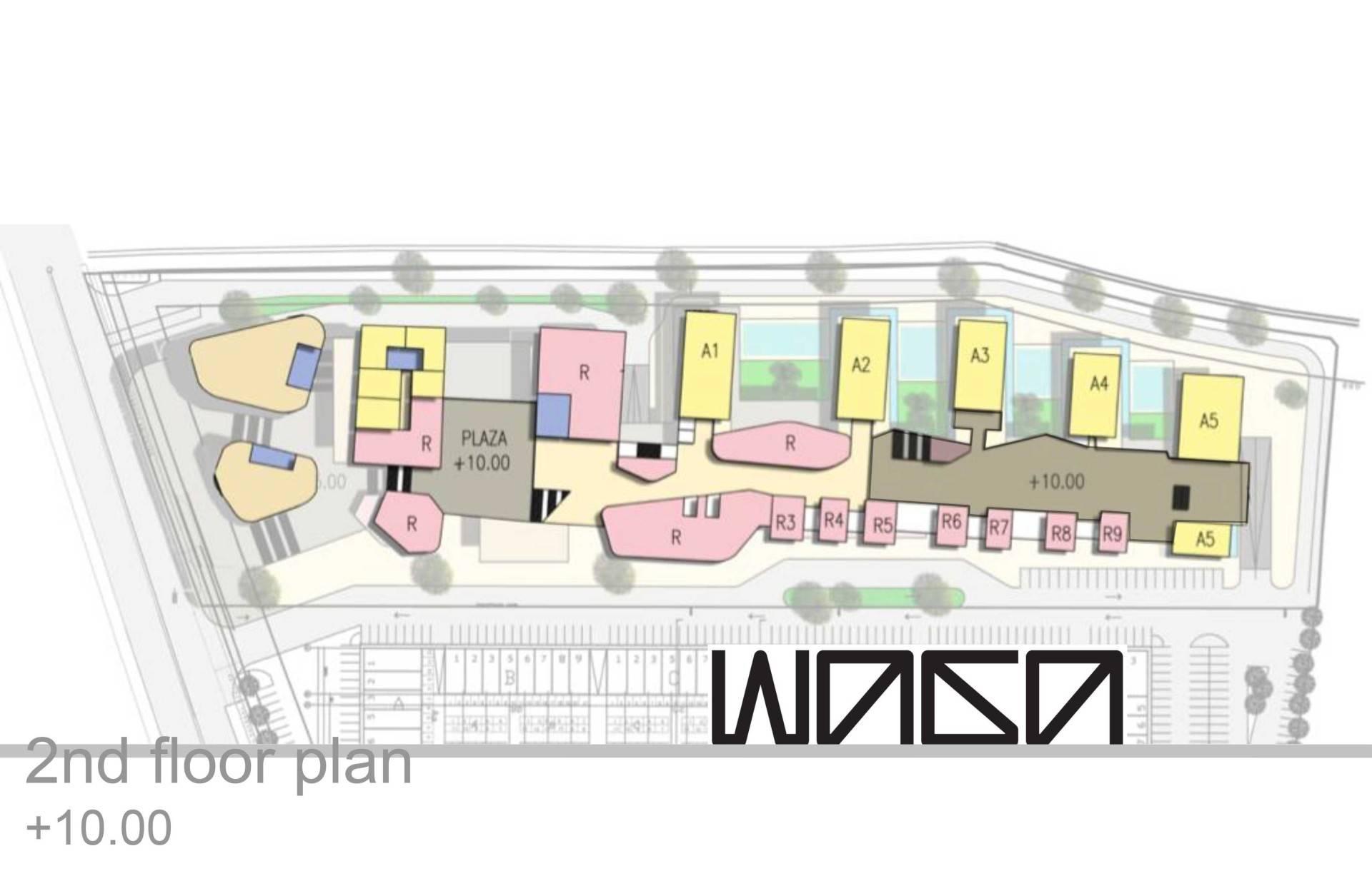 Waga Daan Mogot High Park Masterplan Jakarta, Indonesia Jakarta, Indonesia 2Nd-Floor-Plan Kontemporer  7322