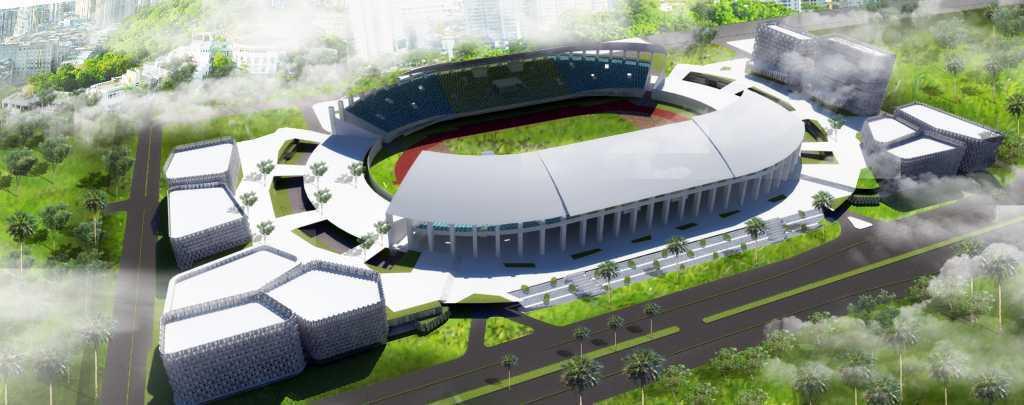 Waga Bekasi Sport Center Bekasi, Indonesia Bekasi, Indonesia Bird-Eye-View   8307