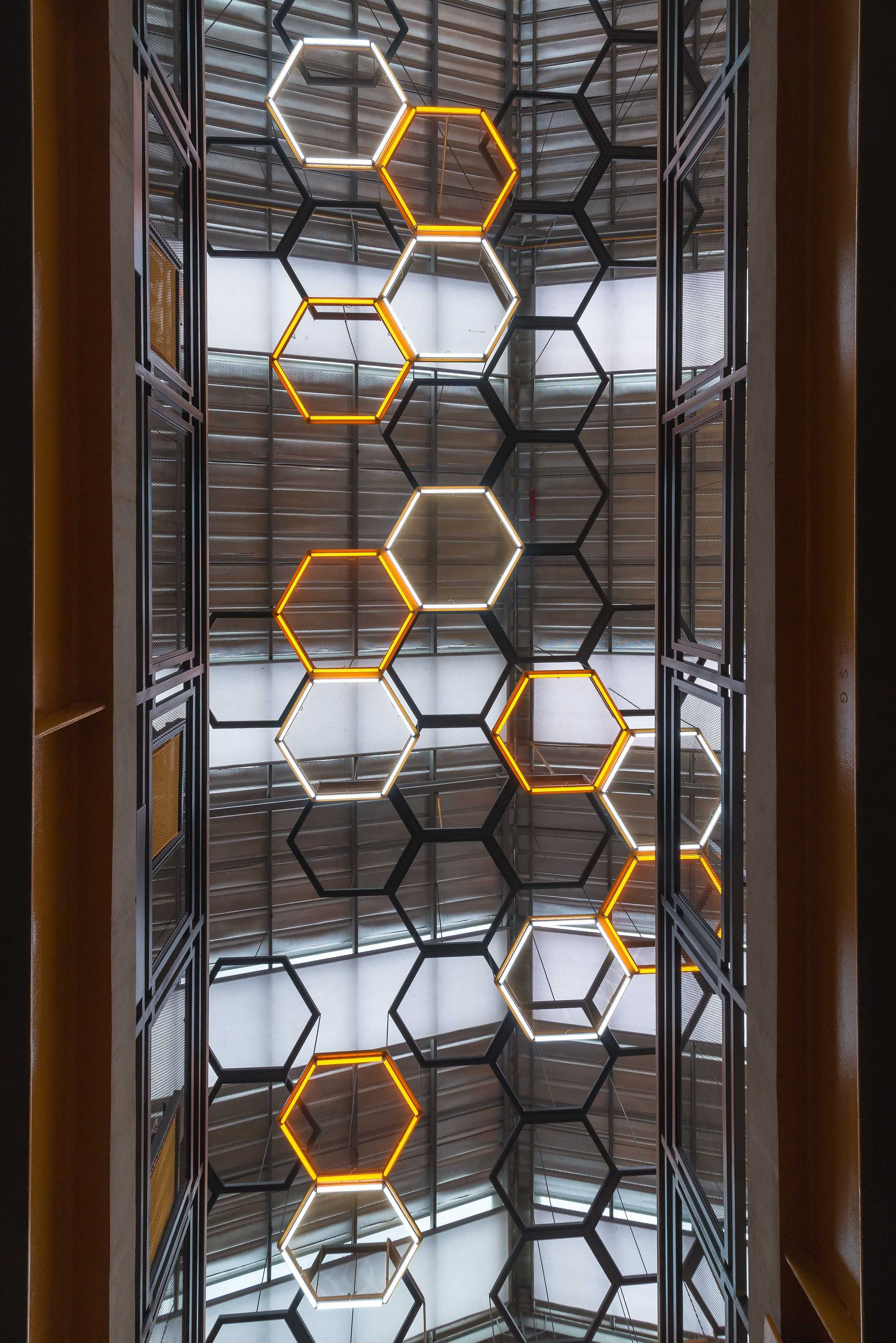 Dnv Studio Kalibre Jatinangor Jatinangor Ceiling Lights Industrial  8344