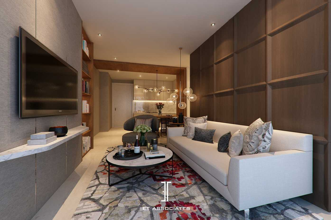 Et Associates Private Apartment At Ciputra World Kuningan, Kuningan Sub-District, Kuningan Regency, West Java, Indonesia  Orchard-Satrio-Living-Room Kontemporer,modern  33589
