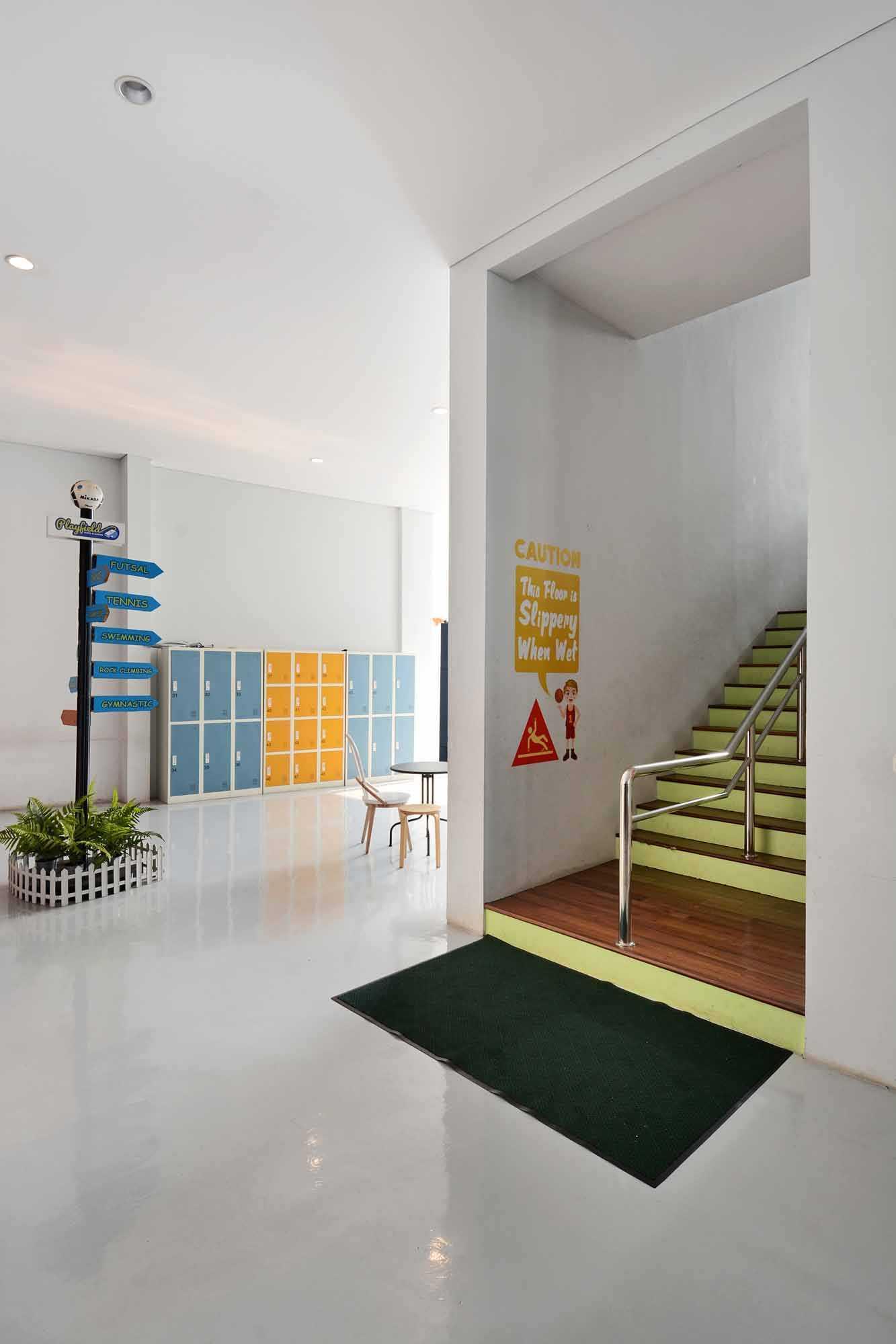 Studio Denny Setiawan Playfield Kids Academy West Jakarta West Jakarta Stairs   23503