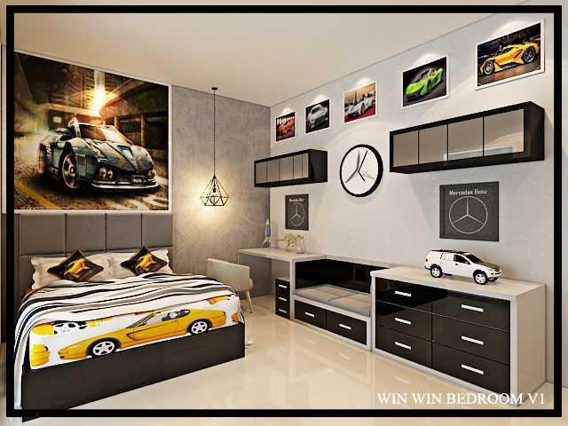 Budi Zhou Rumah Prambanan Surabaya City, East Java, Indonesia Surabaya City, East Java, Indonesia Bedroom-Win2-V1-160916 Klasik  32421