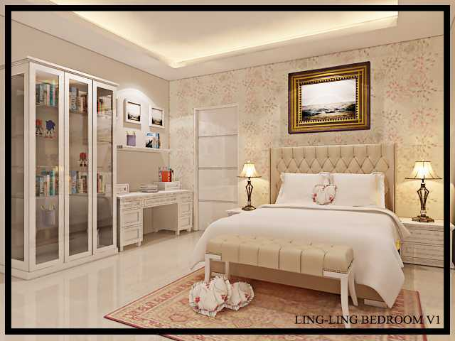 Budi Zhou Rumah Prambanan Surabaya City, East Java, Indonesia Surabaya City, East Java, Indonesia Bedroom-Ling2-V1-150916 Klasik  32425