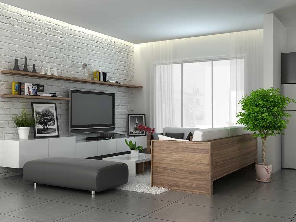 Alexander Cal Home Interior Design Gading Serpong Gading Serpong Livingroom-3-Final Modern  13463
