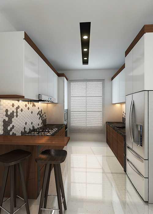 Photo Kitchen design Home Interior at Kelapa Gading 3 ...