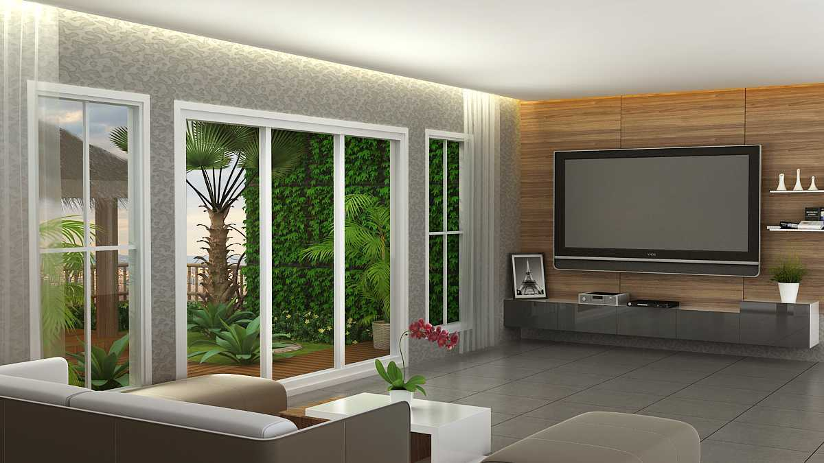 Alexander Cal Private House   Living-Room-L2 Modern  37469