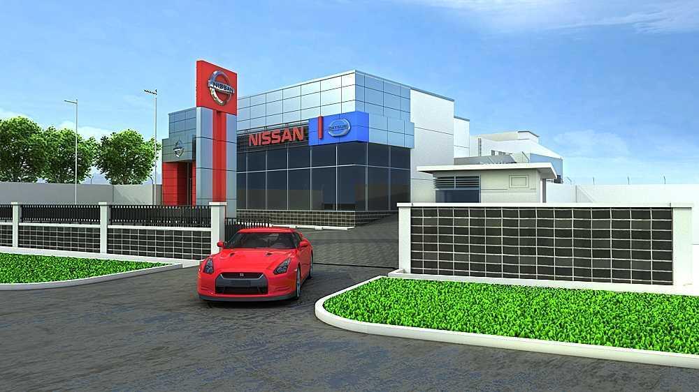 Terra Agung Showroom & Service Nissan Sukabumi Sukabumi Sukabumi Nissan-Sukabumi-View-2 Minimalis  28656