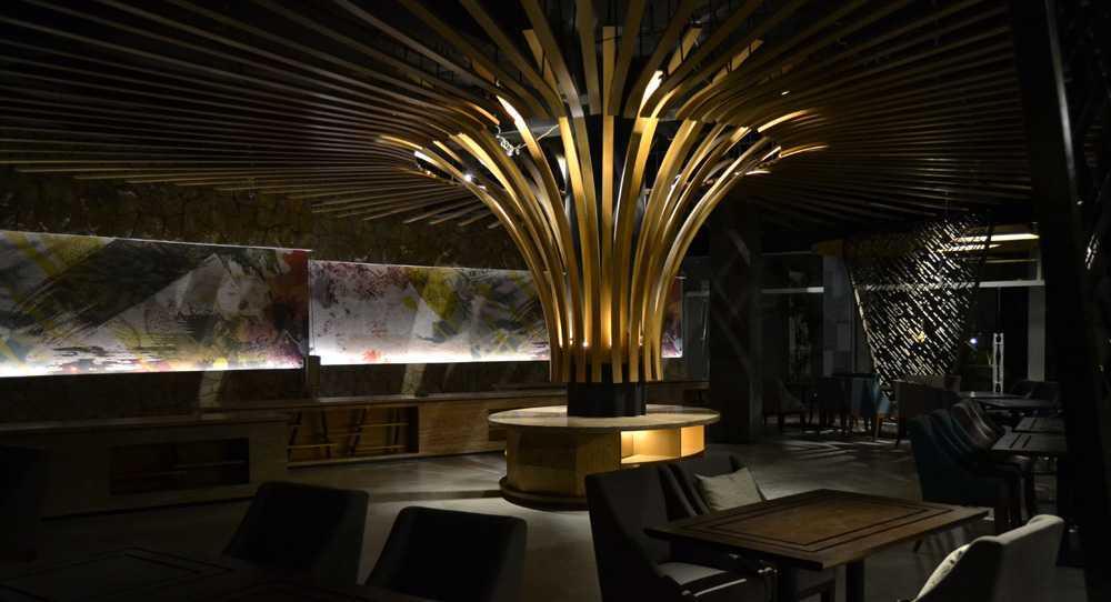 Wegig Pangauban - Wismaparamasiddha Hotel Aruna Senggigi Lombok Lombok Seating Area Kontemporer  12608