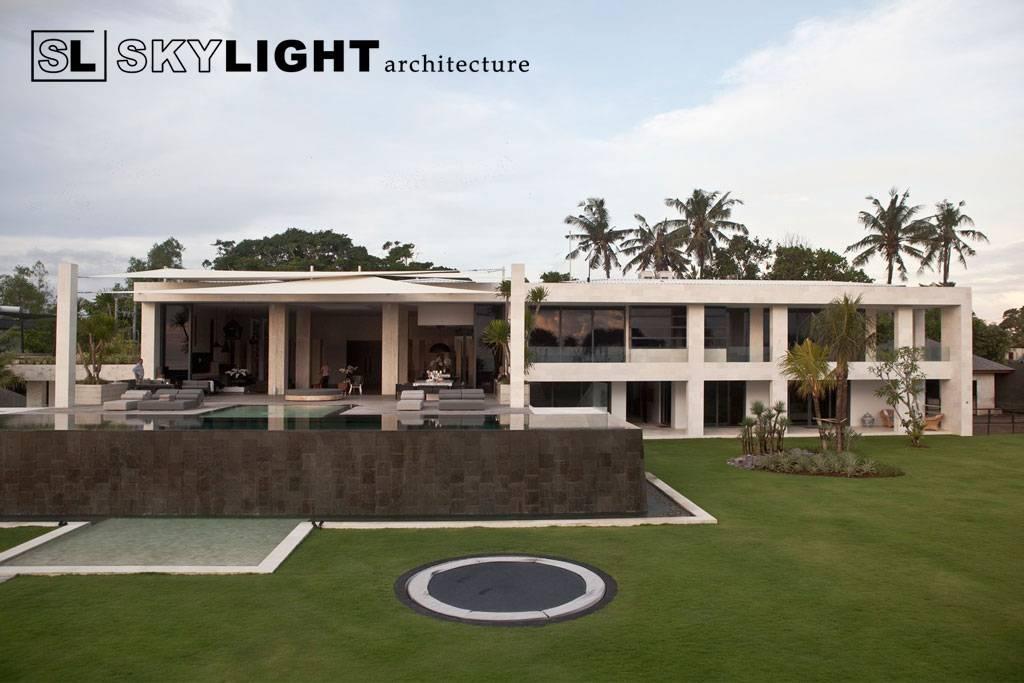 Skylight Architecture Berawa Residence Tibubeneng, North Kuta, Badung Regency, Bali, Indonesia Bali, Indonesia Back-Elevation   7603