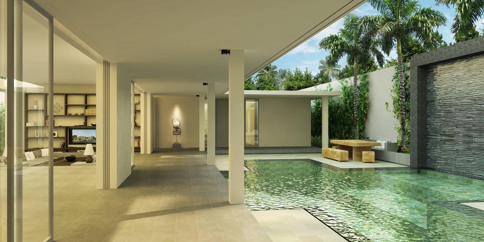 Skylight Architecture Sunyi Villa Bali, Indonesia Bali, Indonesia Swimming-Pool-View-1   7611
