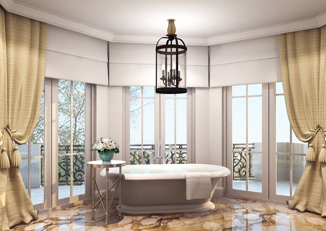 Rieska Achmad Pejaten Barat Jakarta Jakarta Classic Master-Bathroom Klasik  7867