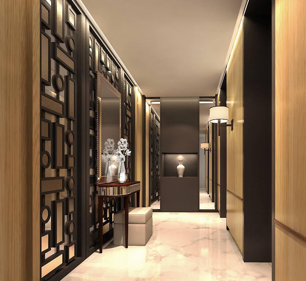 Rieska Achmad Apartemen  Capital Residence Jakarta, Indonesia Jakarta, Indonesia Foyer Classic, Klasik, Modern, Contemporary, Kontemporer  7874