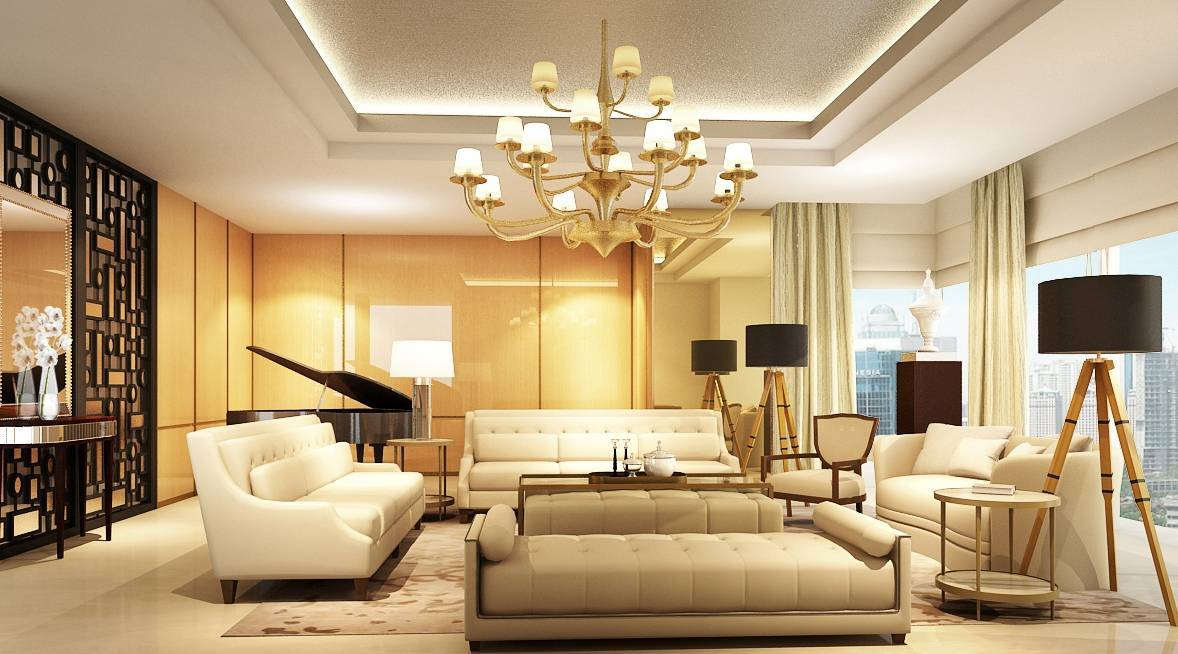 Rieska Achmad Apartemen  Capital Residence Jakarta, Indonesia Jakarta, Indonesia Living Room Apartment Kontemporer,modern  7875