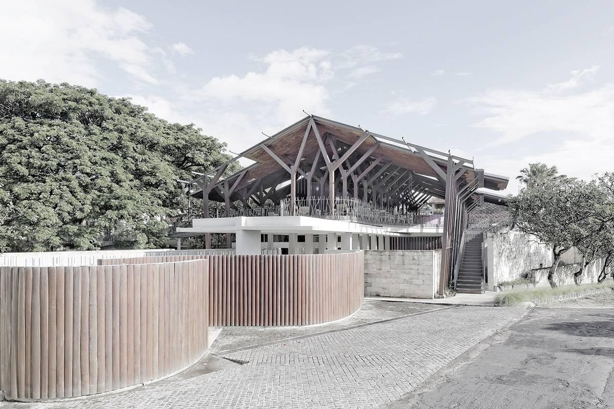 Antony Liu + Ferry Ridwan / Studio Tonton The Bale Nusa Dua, Bali Nusa Dua, Bali The Bale Exterior Modern  7893