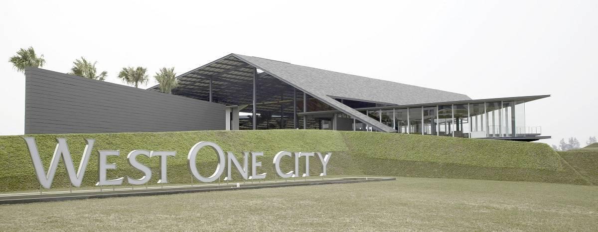 Antony Liu + Ferry Ridwan / Studio Tonton West One City Marketing Office Jakarta Jakarta Front View Modern  7961