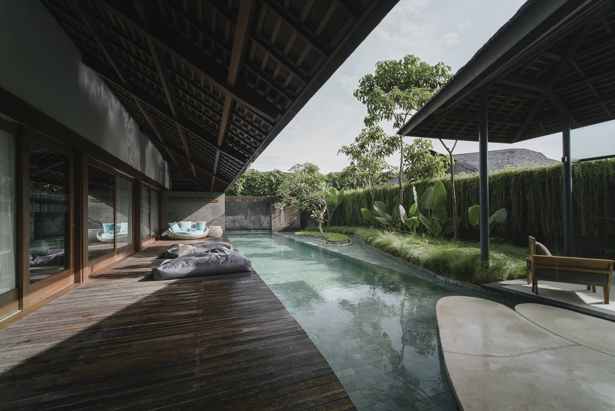 Antony Liu + Ferry Ridwan / Studio Tonton The Santai Umalas, Bali, Indonesia Umalas, Bali, Indonesia Swimming Pool Area Tropis  8009
