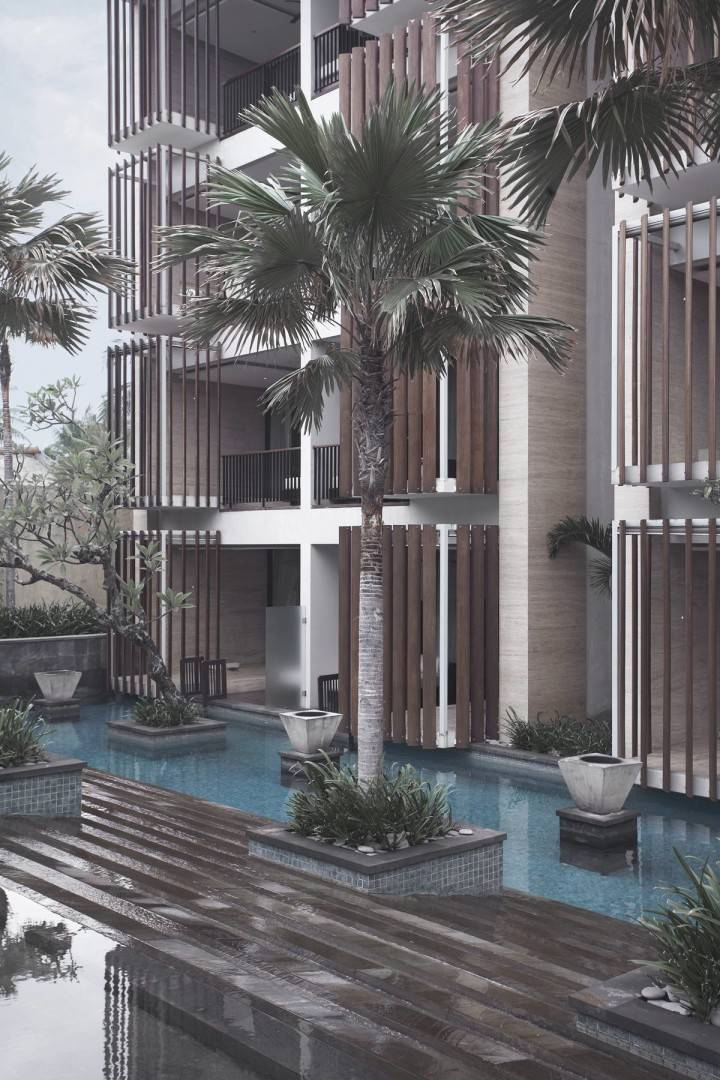 Antony Liu + Ferry Ridwan / Studio Tonton Anantara Seminyak Bali Resort Seminyak, Bali, Indonesia Seminyak, Bali, Indonesia Swimming Pool View Modern  8023