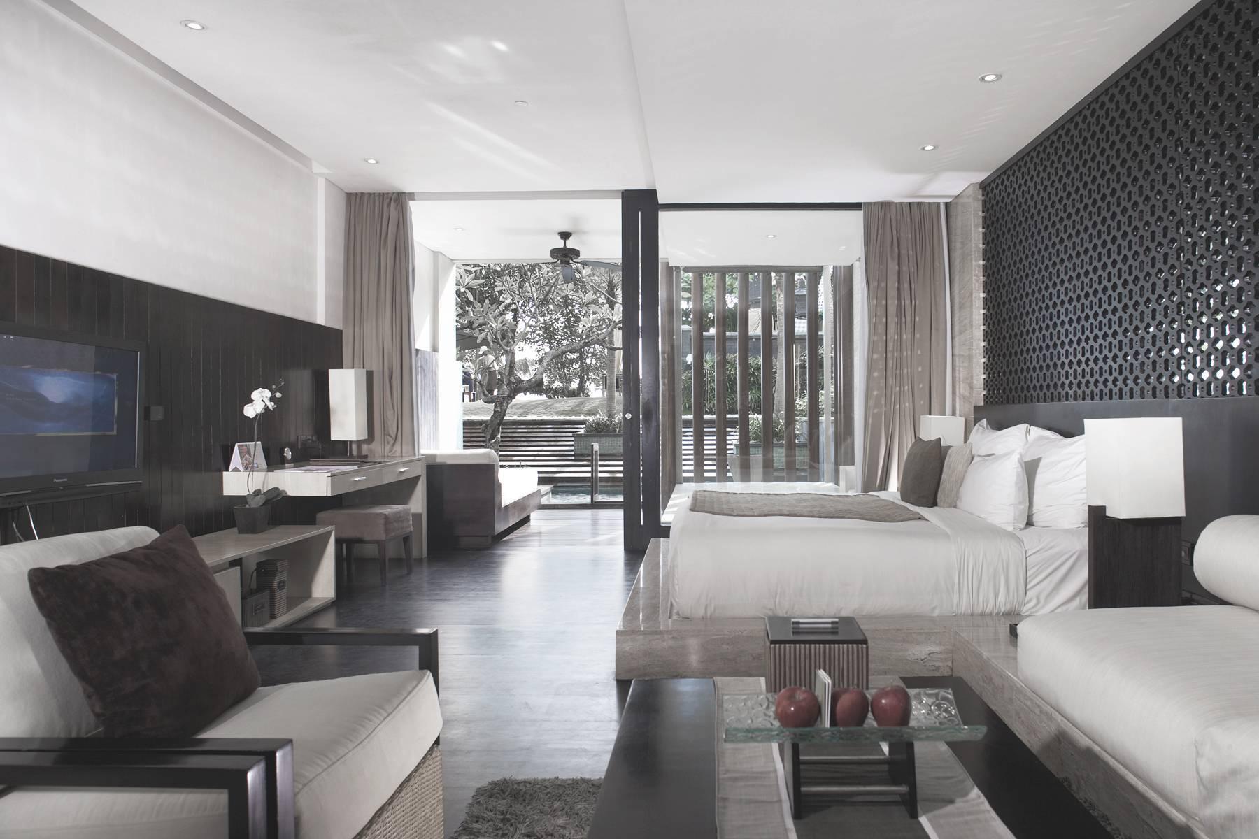 Antony Liu + Ferry Ridwan / Studio Tonton Anantara Seminyak Bali Resort Seminyak, Bali, Indonesia Seminyak, Bali, Indonesia Bedroom Modern  8027