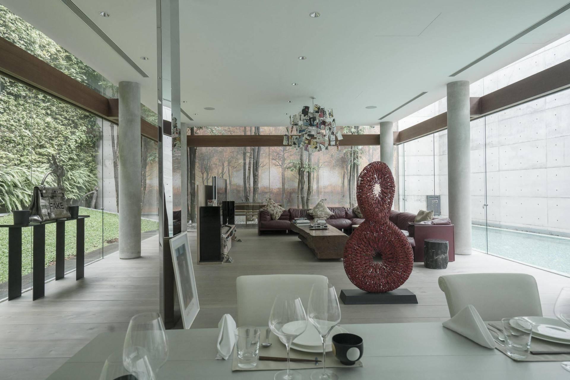 Antony Liu + Ferry Ridwan / Studio Tonton Js House Tulodong, Jakarta, Indonesia Tulodong, Jakarta, Indonesia Living & Dining Room Modern  8115