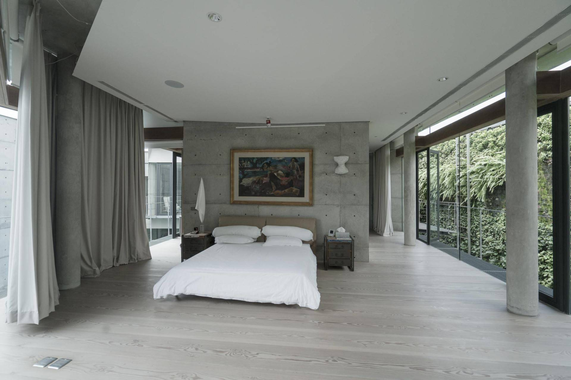 Antony Liu + Ferry Ridwan / Studio Tonton Js House Tulodong, Jakarta, Indonesia Tulodong, Jakarta, Indonesia Bedroom Modern  8131