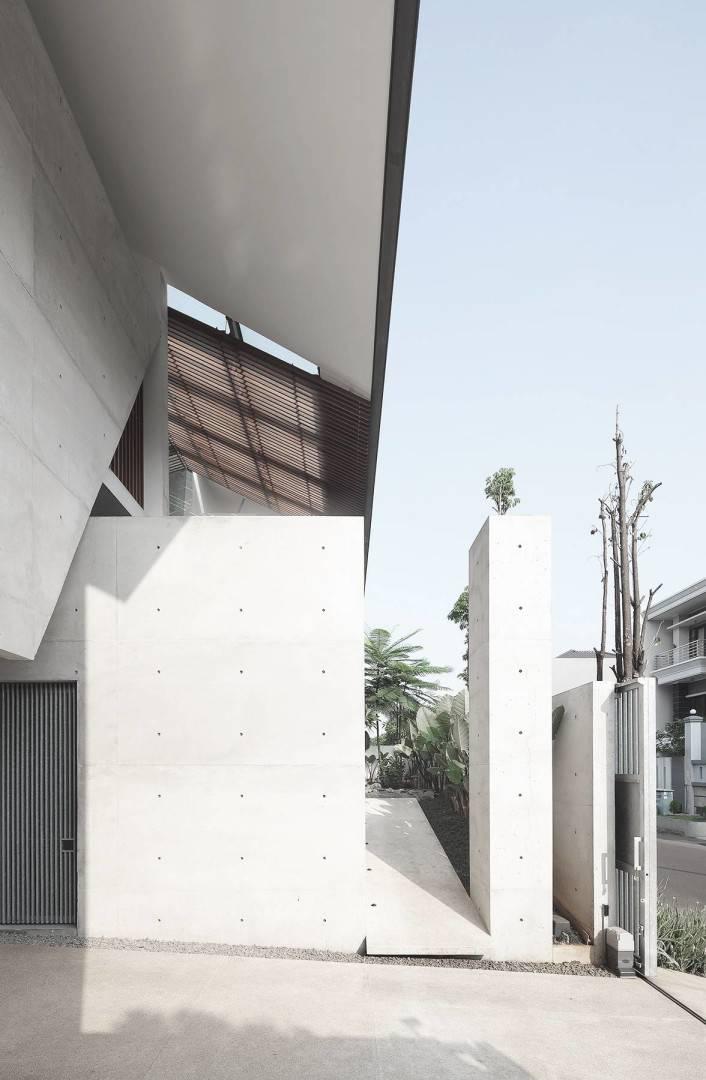 Antony Liu + Ferry Ridwan / Studio Tonton Mm House Permata Buana, Jakarta, Indonesia Permata Buana, Jakarta, Indonesia Exterior Modern  8142