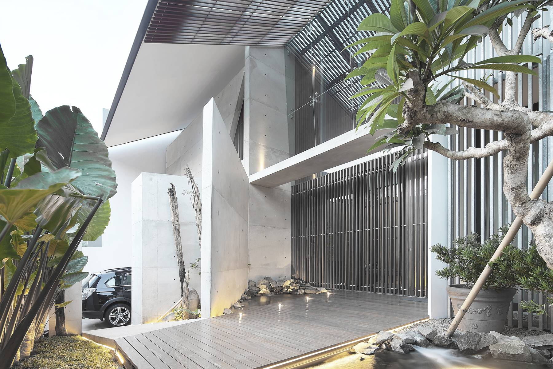 Antony Liu + Ferry Ridwan / Studio Tonton Mm House Permata Buana, Jakarta, Indonesia Permata Buana, Jakarta, Indonesia Front Area Modern  8146