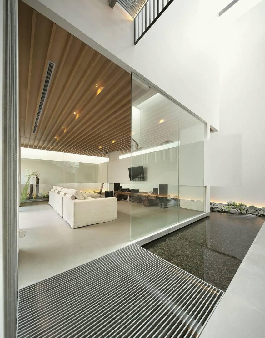 Antony Liu + Ferry Ridwan / Studio Tonton Mm House Permata Buana, Jakarta, Indonesia Permata Buana, Jakarta, Indonesia Family Room Modern  8162