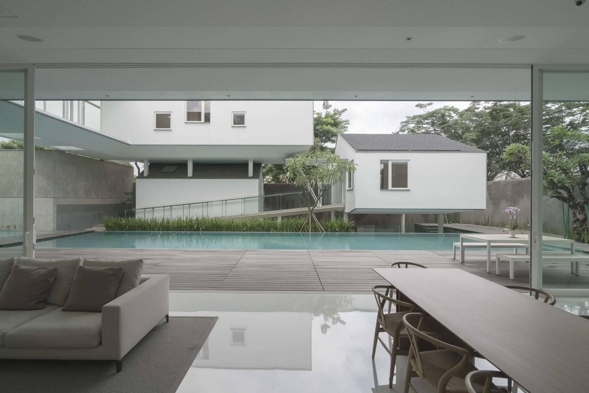 Antony Liu + Ferry Ridwan / Studio Tonton Is House Tangerang Tangerang Swimming Pool View Modern  8178