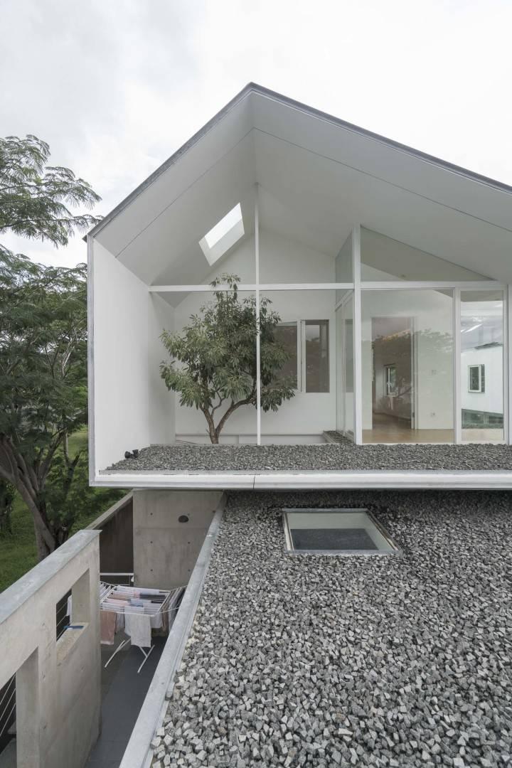 Antony Liu + Ferry Ridwan / Studio Tonton Is House Tangerang Tangerang Exterior Details Modern  8188