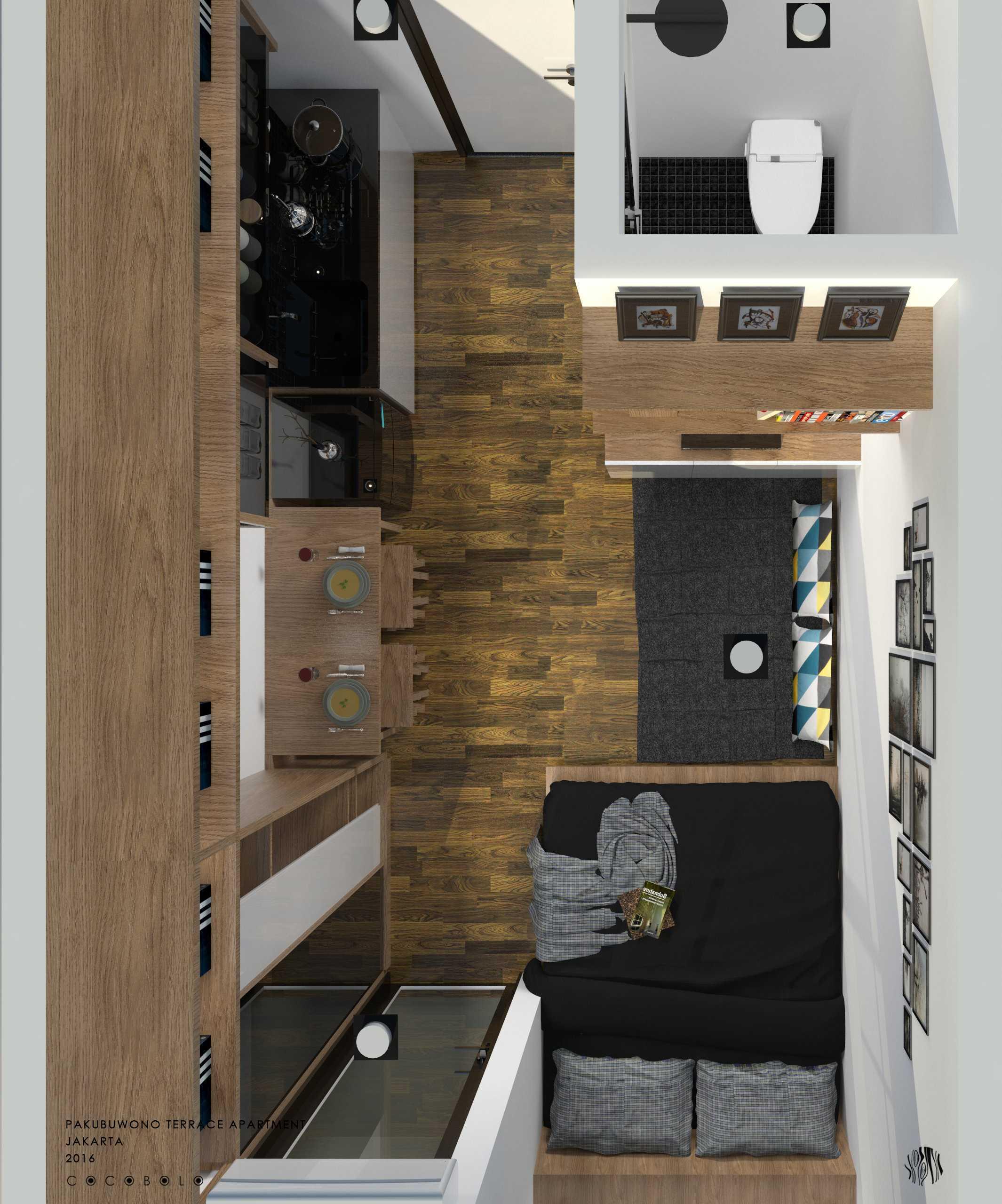 Cocobolo Studio Mj's Apartment Pakubuwono Apartment, Jakarta Pakubuwono Apartment, Jakarta Mj's 3 Minimalis  12271