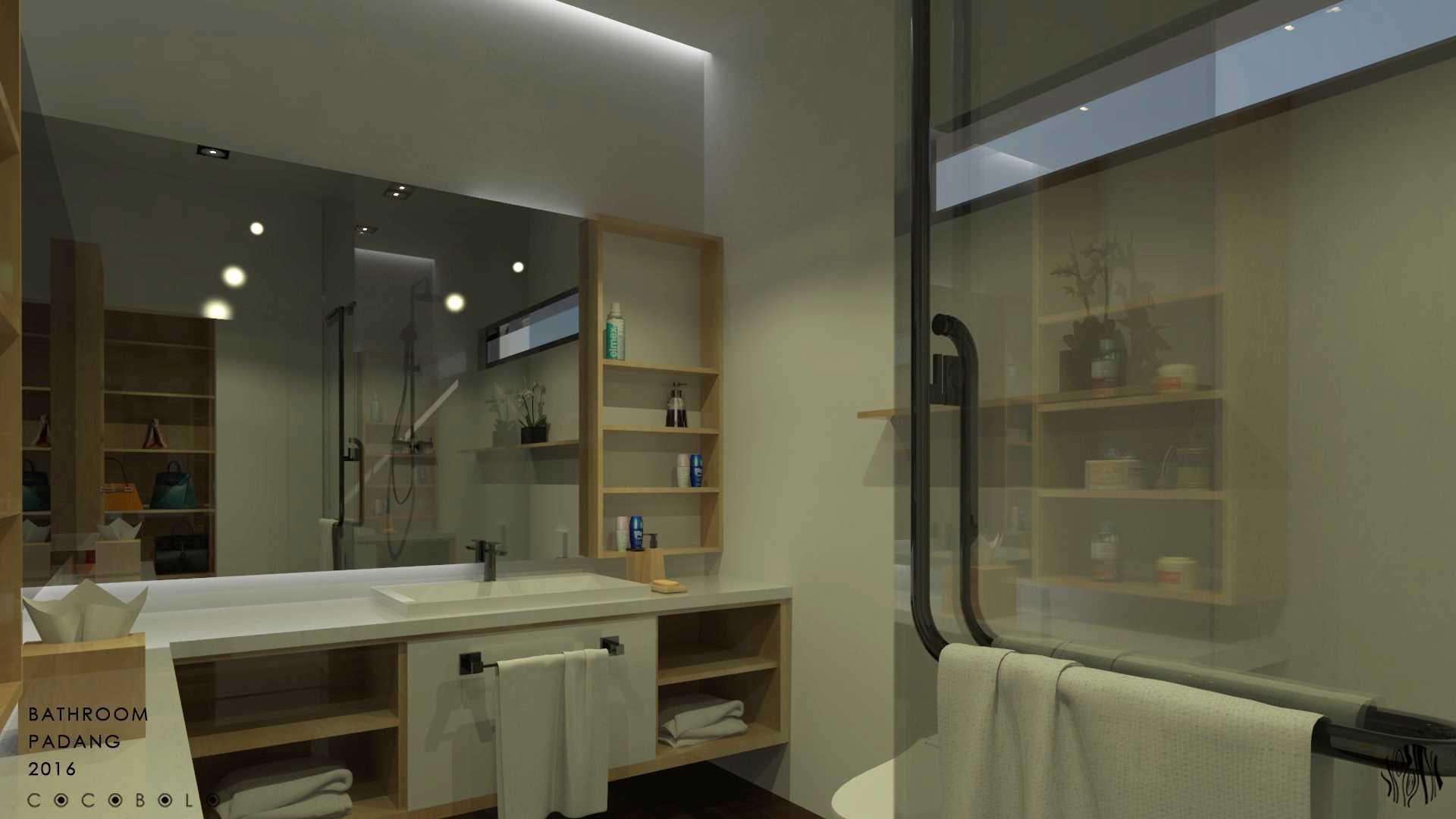Cocobolo Studio D House Padang, Indonesia Padang, Indonesia Bathroom Minimalis,modern  18264