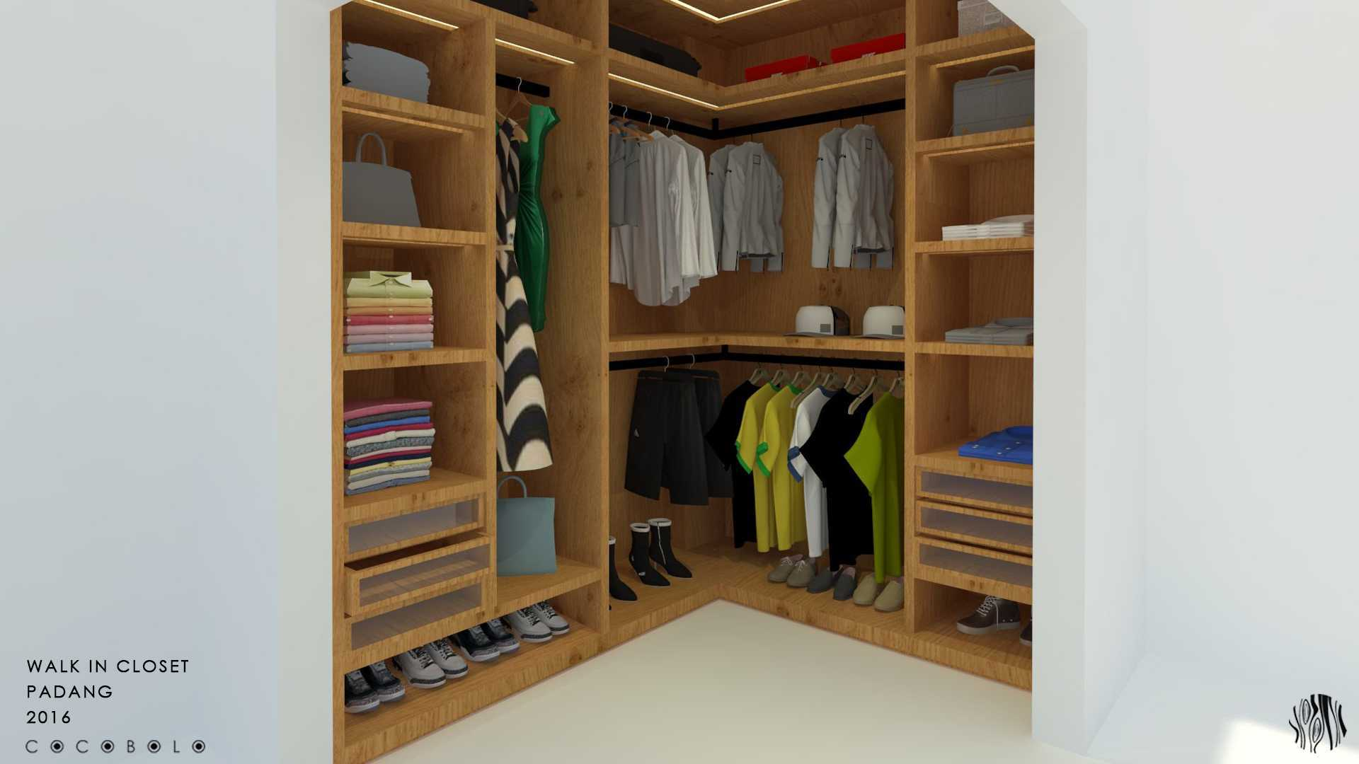 Cocobolo Studio D House Padang, Indonesia Padang, Indonesia Closet Minimalis,modern  18267