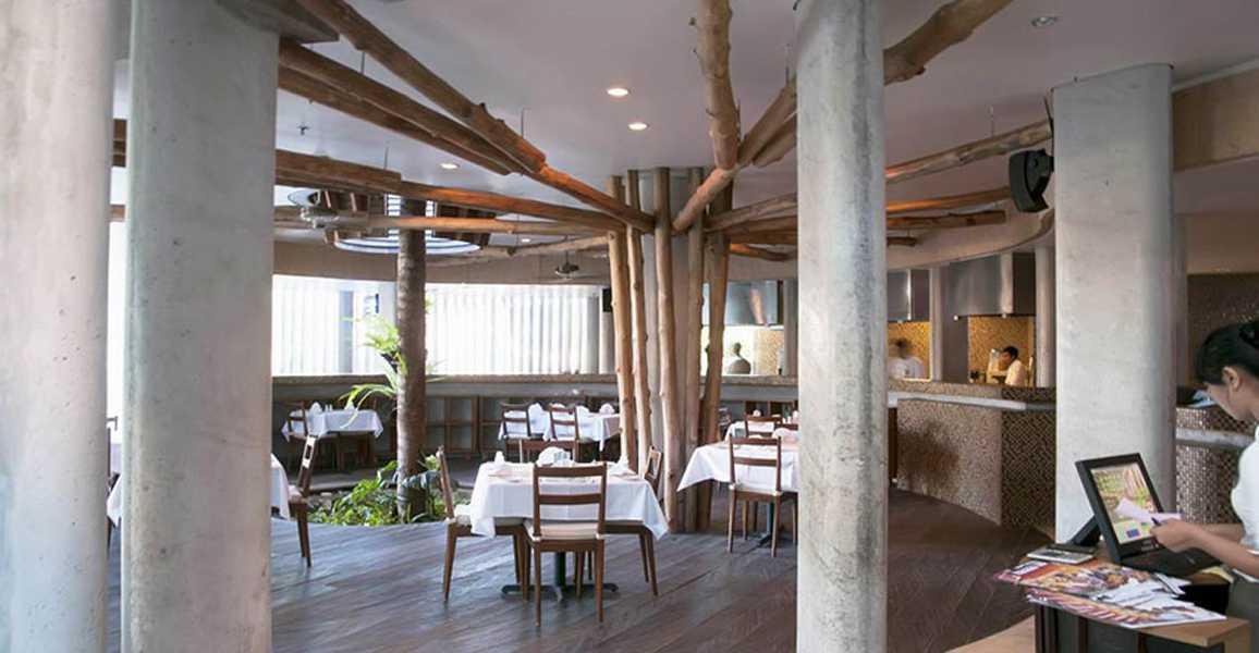 Imago Design Studio Grandmas Hotel Seminyak Seminyak, Bali Seminyak, Bali Seating Area Restaurant Modern  8932