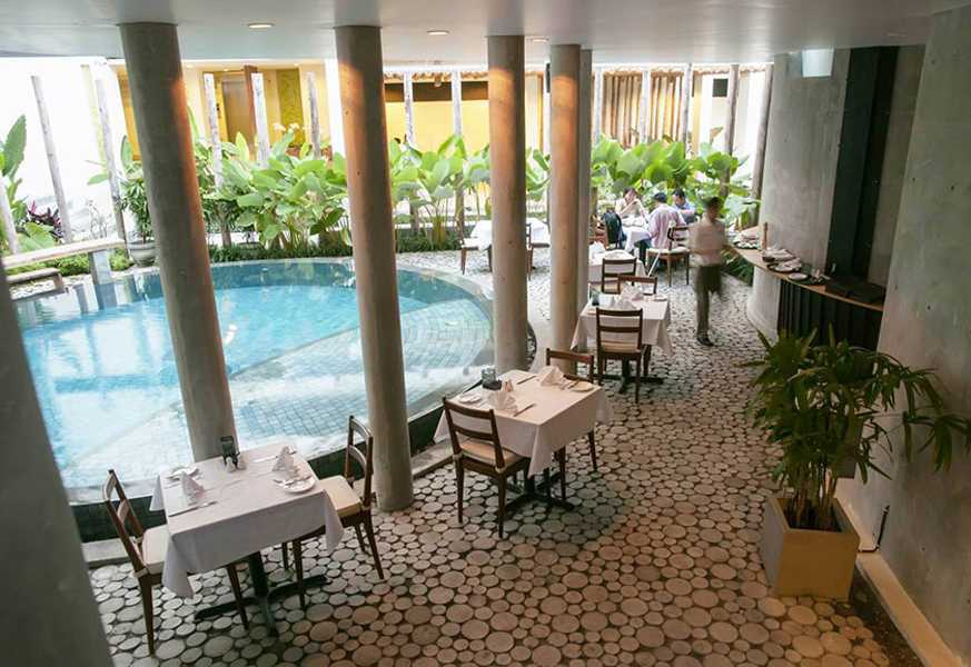 Imago Design Studio Grandmas Hotel Seminyak Seminyak, Bali Seminyak, Bali Seating Area Restaurant Modern  8934