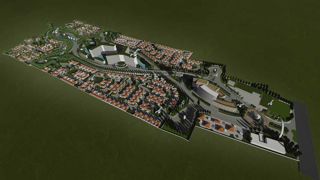 Imago Design Studio Menganti Residences Surabaya Surabaya Menganti-Residences-Masterplan Tropis  8996