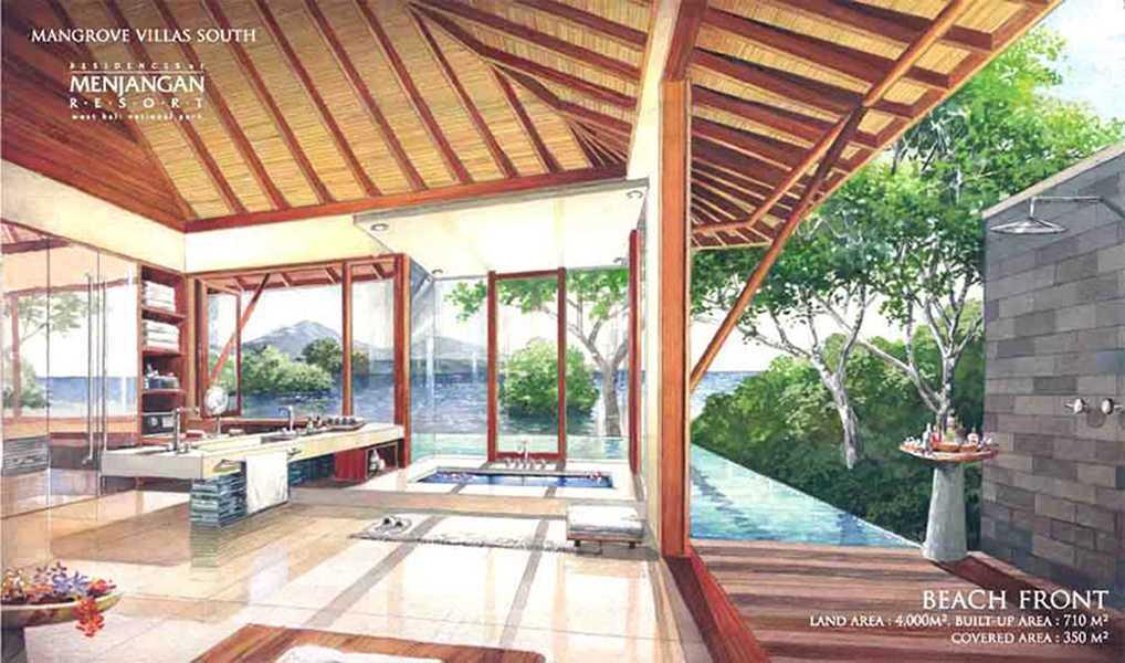Imago Design Studio Menjangan Properties Taman Nasional Bali Barat Taman Nasional Bali Barat Bathroom Tropis  9018