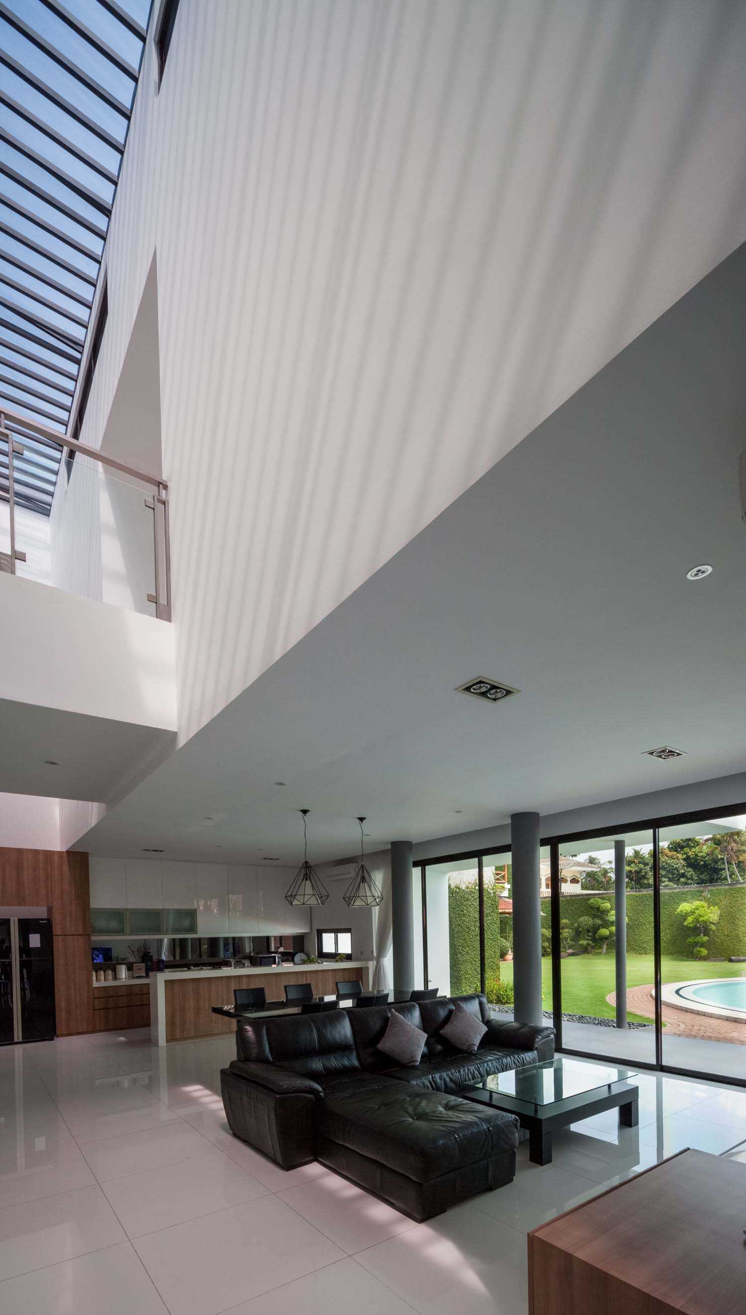 Dp+Hs Architects D+S House Jakarta, Indonesia Jakarta, Indonesia Living-Area Modern  8525