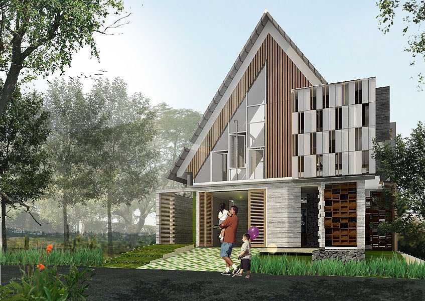 Studio Asri Perforated House Bali, Indonesia Bali, Indonesia Front-View   8556