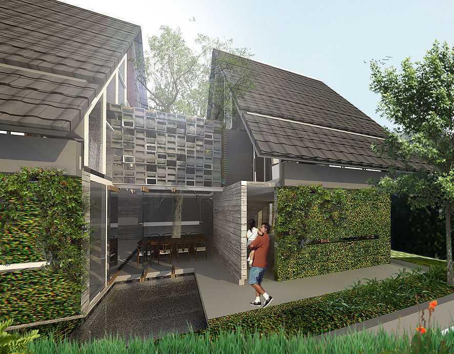 Studio Asri Perforated House Bali, Indonesia Bali, Indonesia Side-View   8558