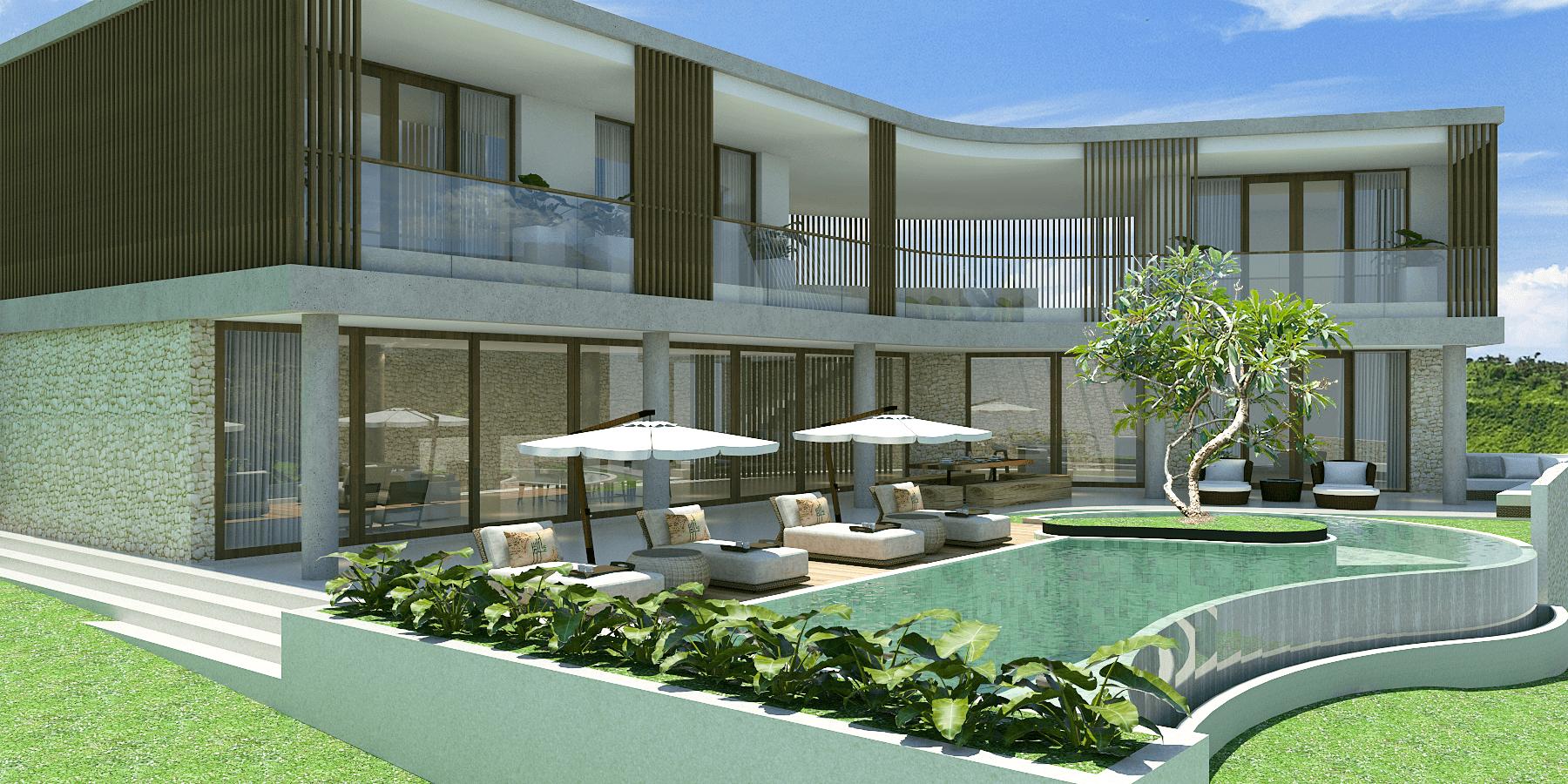 Pt. Indodesign Kreasi Mandiri Lombok Hotel South Lombok Kuta South Lombok Kuta Swimming Pool Area  <P>Villa 4Brm</p> 16094