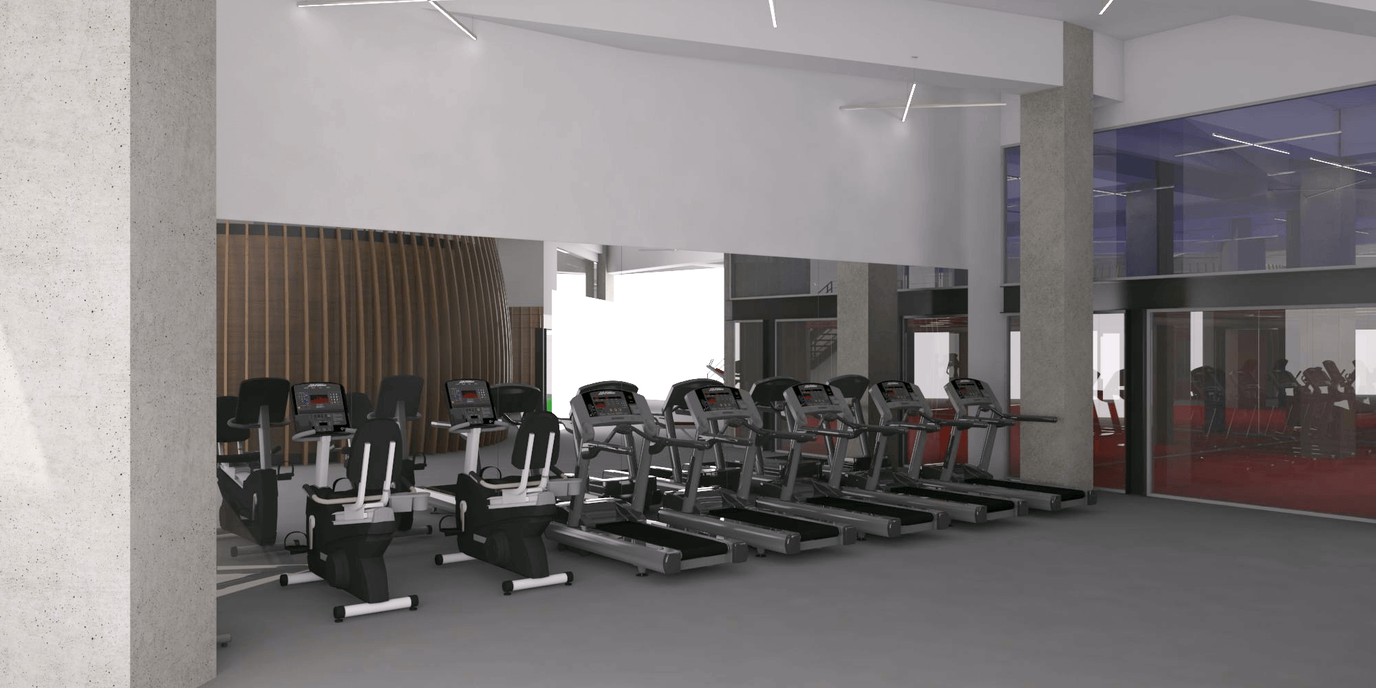 Pt. Indodesign Kreasi Mandiri Life Spa Fitness South Quarter South Jakarta South Jakarta Fitness-View-1   18071