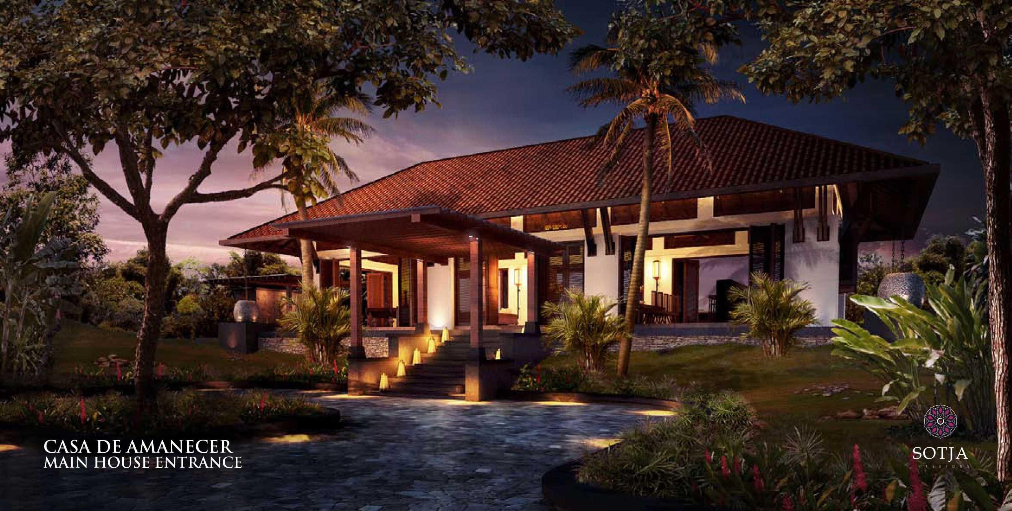 Sotja Interiors Casa De Amanecer Bocal Del Toro, Panama Bocal Del Toro, Panama Main-House-Entrance   8707