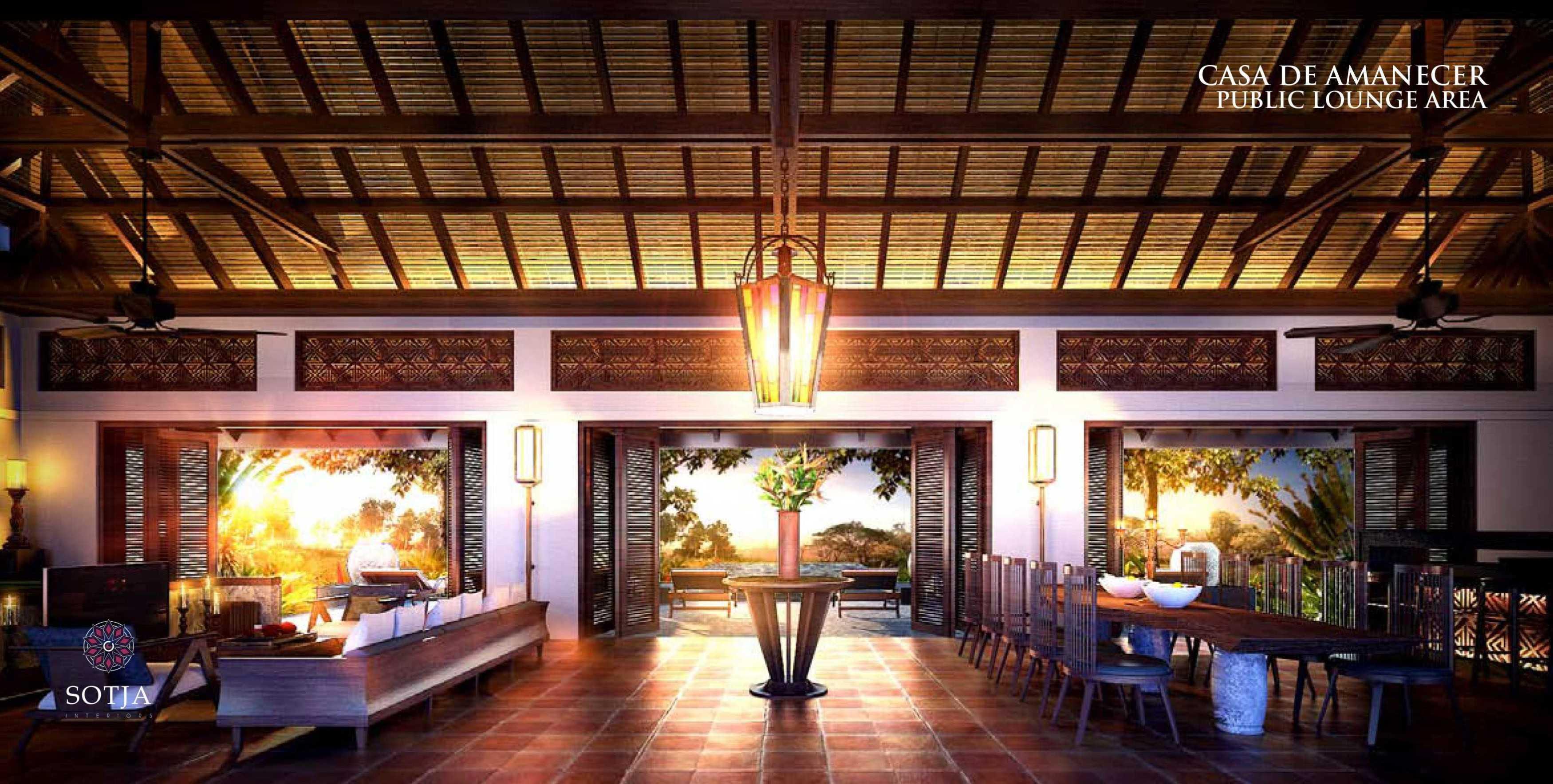 Sotja Interiors Casa De Amanecer Bocal Del Toro, Panama Bocal Del Toro, Panama Public-Lounge-Area   8708