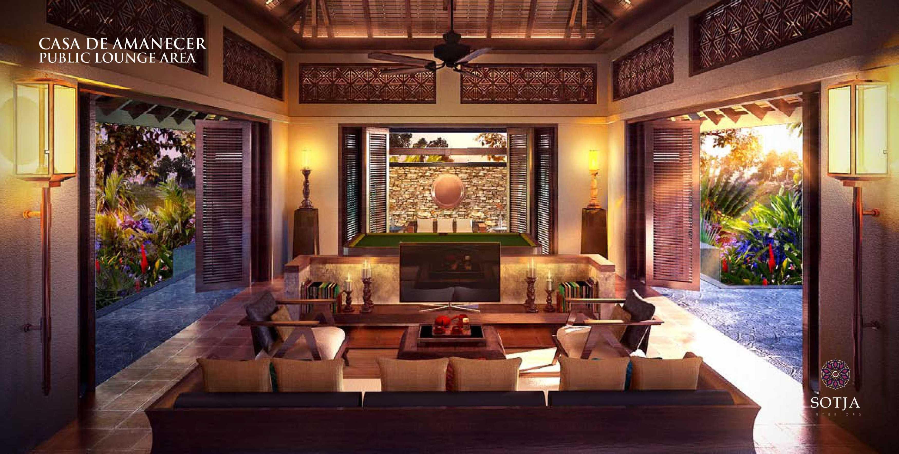 Sotja Interiors Casa De Amanecer Bocal Del Toro, Panama Bocal Del Toro, Panama Public-Lounge-Area   8709