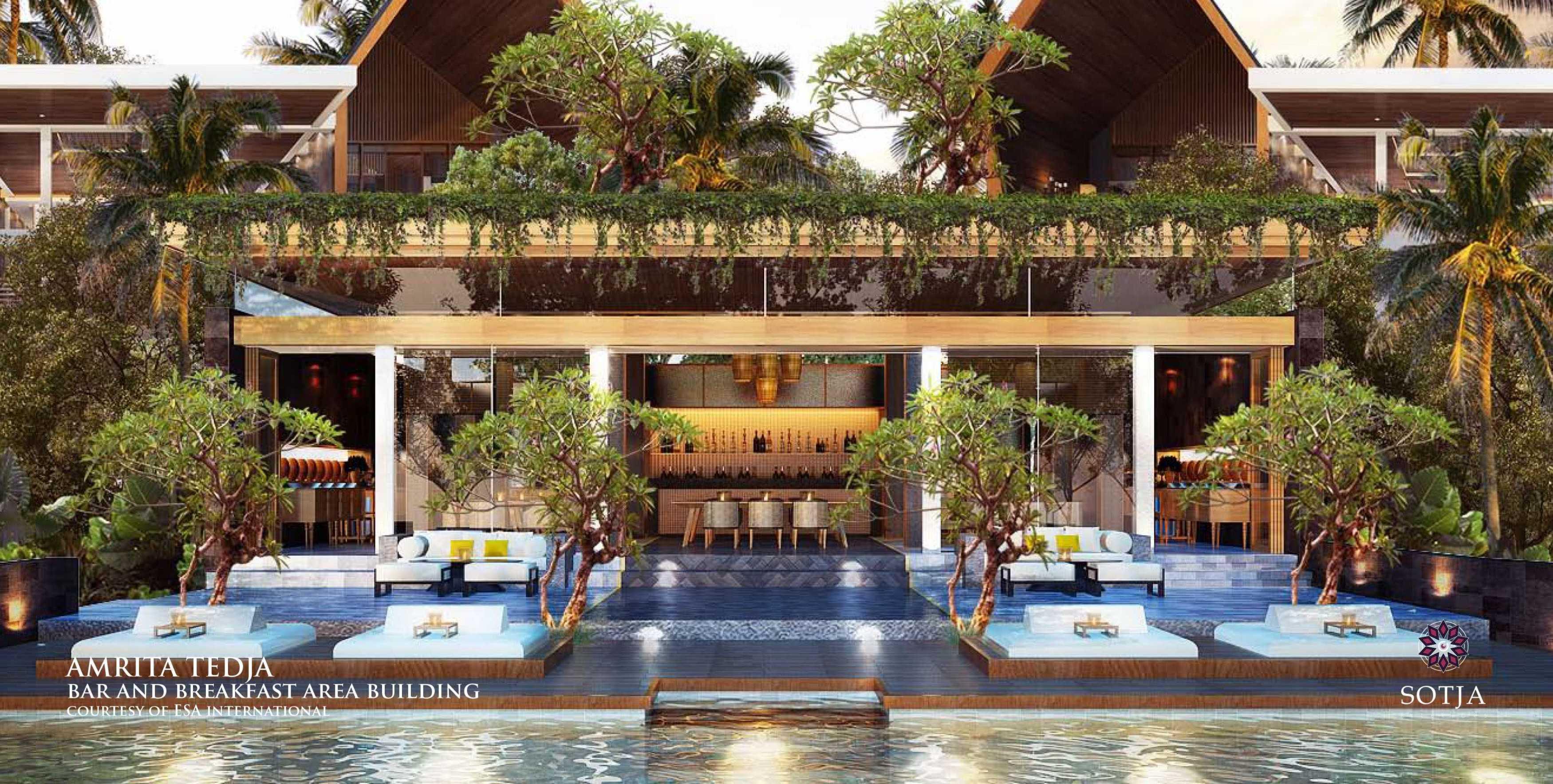 Sotja Interiors Amrita Tedja At Ubud Bali, Indonesia Bali, Indonesia Bar & Breakfast Area   8718